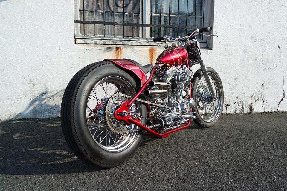 Custom Harley-Davidson XL Sportster by Purple Panthera | Modified
