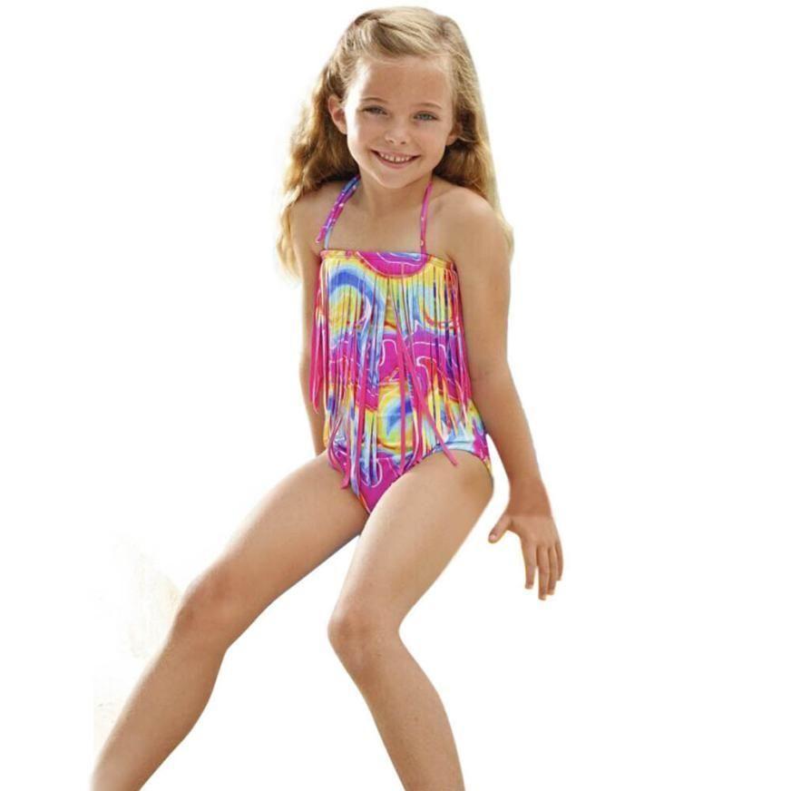 164c2d817 2017 New Summer children s swimsuit Kids Bathing Suits Girls One ...