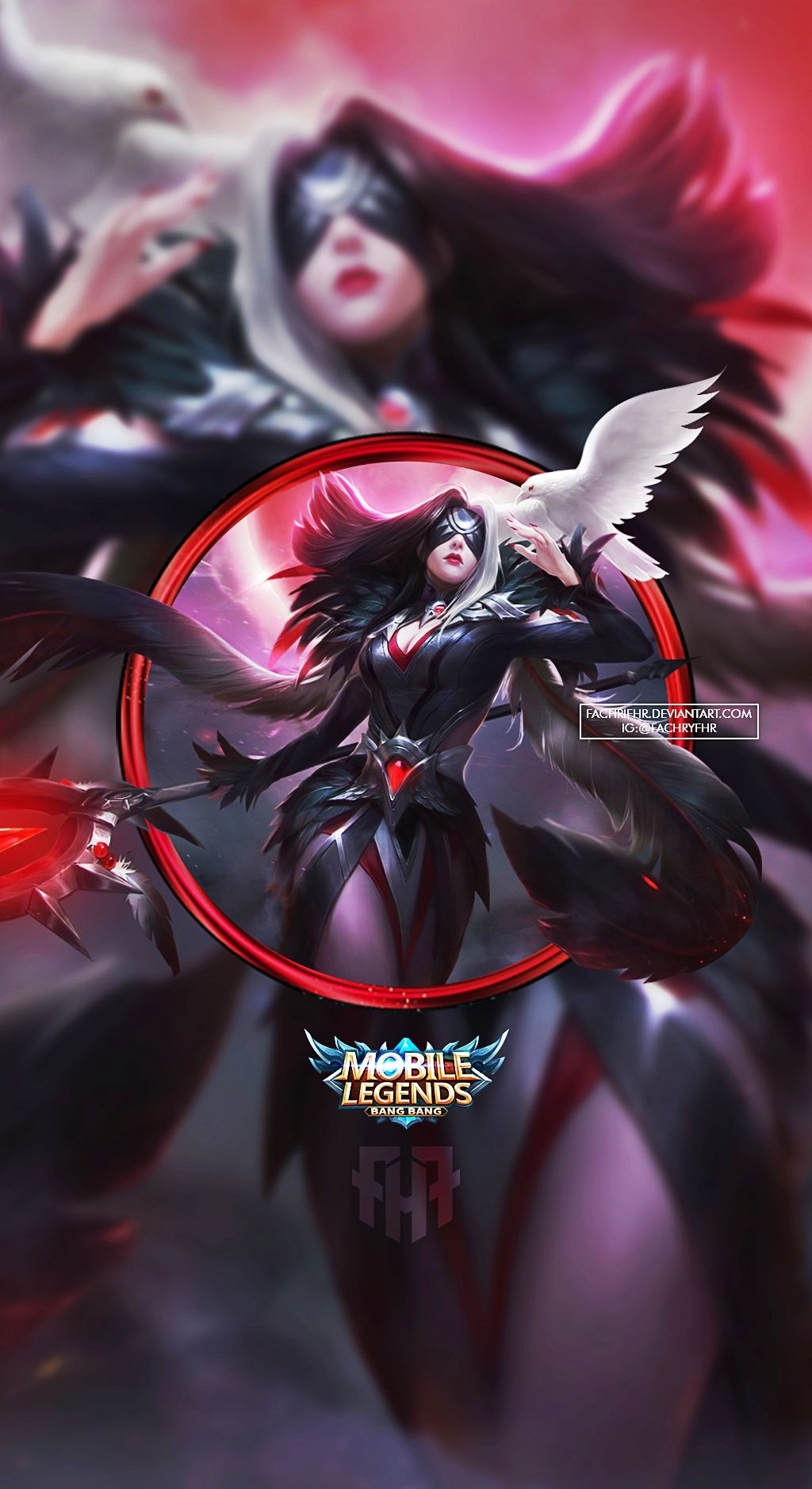Wallpaper Phone Fasha Wings of Vengeance by FachriFHR
