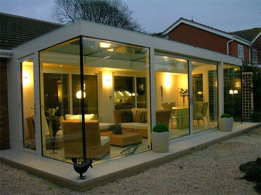 die besten 25 moderner wintergarten ideen auf pinterest. Black Bedroom Furniture Sets. Home Design Ideas