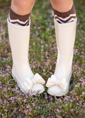 Brown Chevron Socks