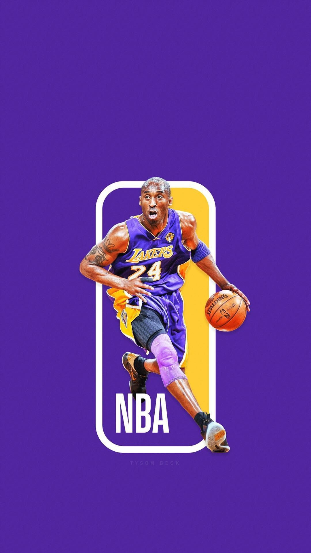 Kobe Bryant Wallpaper Nba Logo Kobe Bryant Kobe Bryant Wallpaper