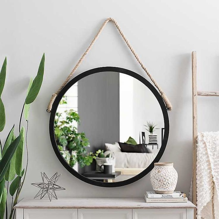 Mirror ideas for your bathroom. in 2020 Round mirror