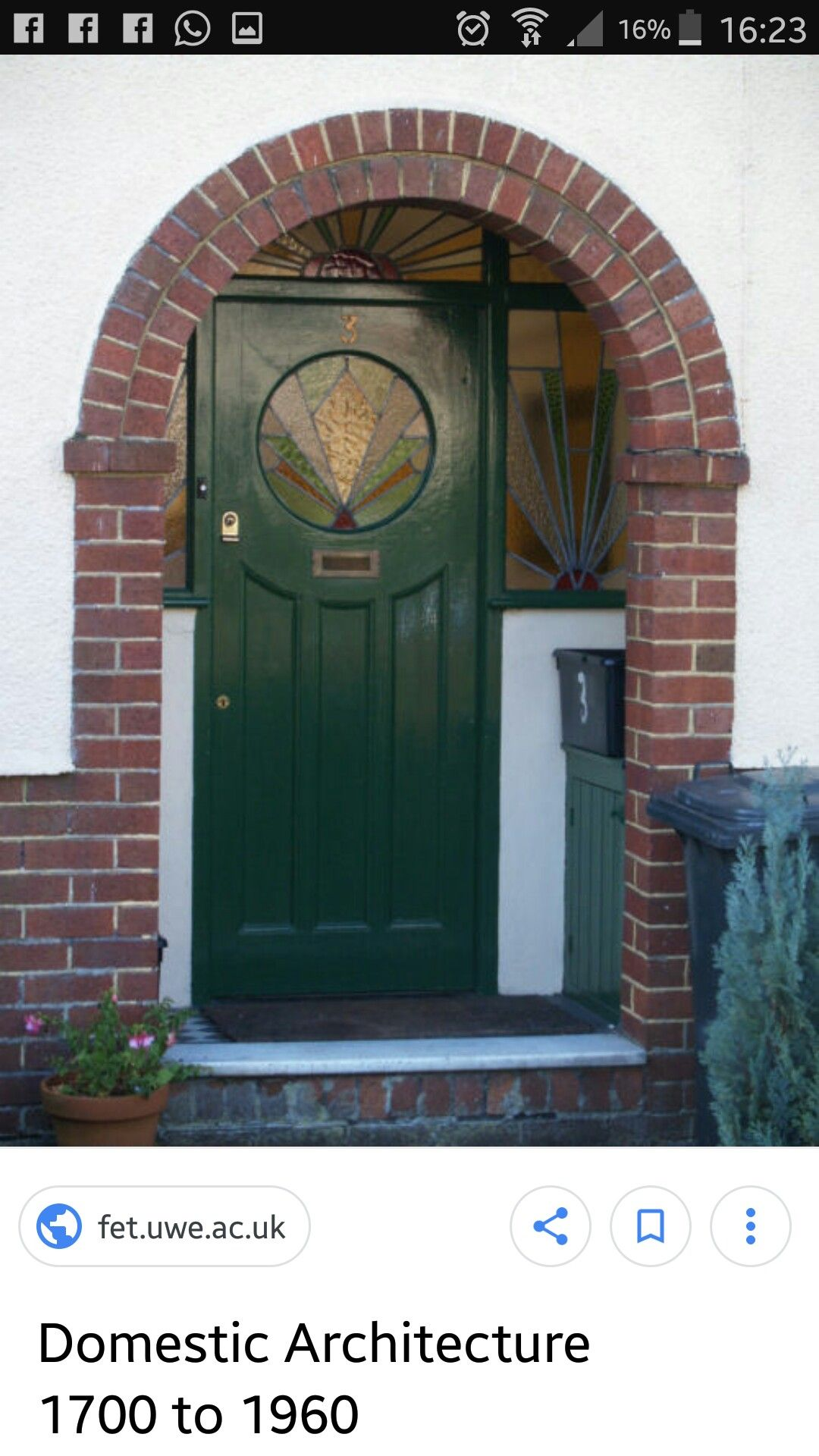Single Door Awning - AWNING