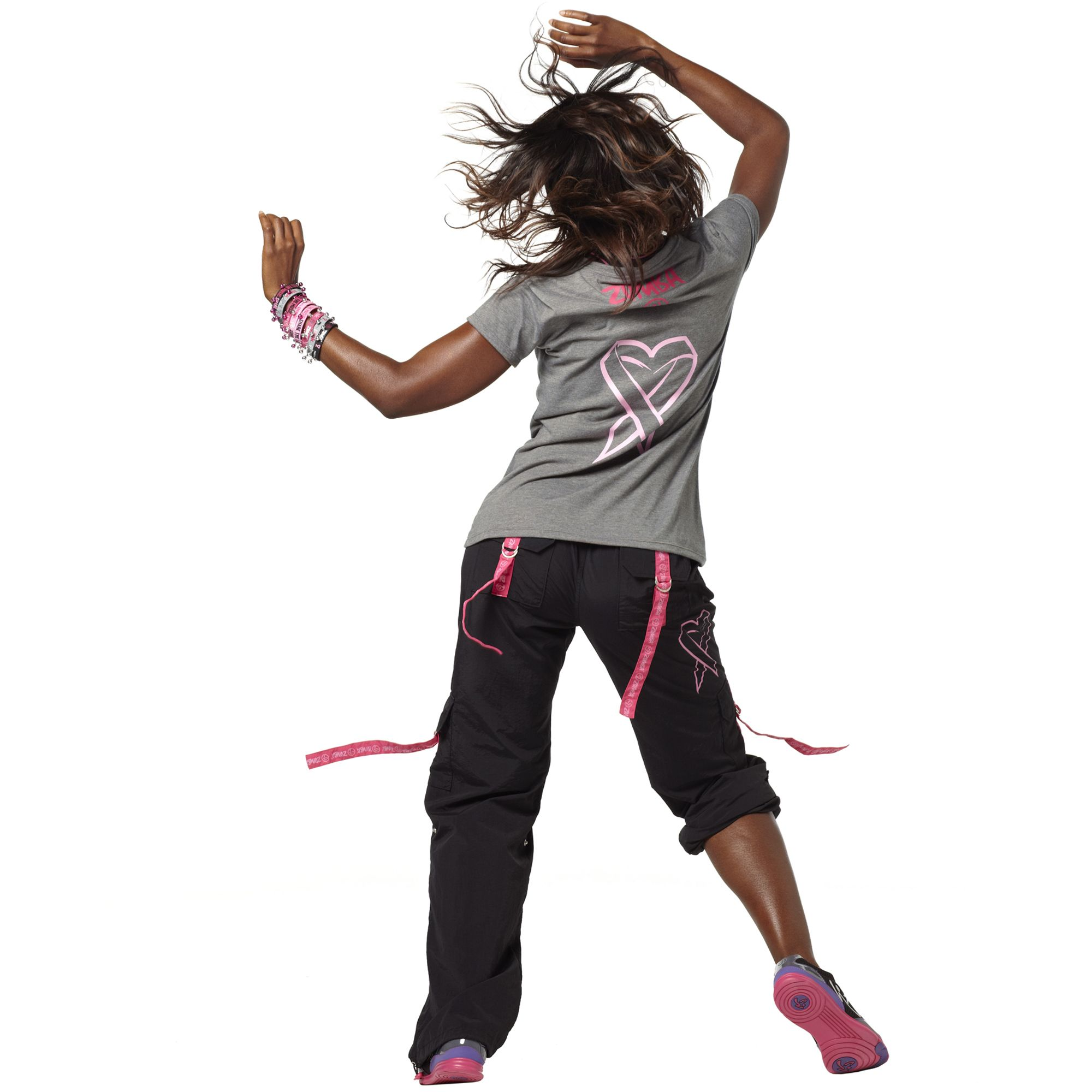 Buy zumba party in pink cargo pants