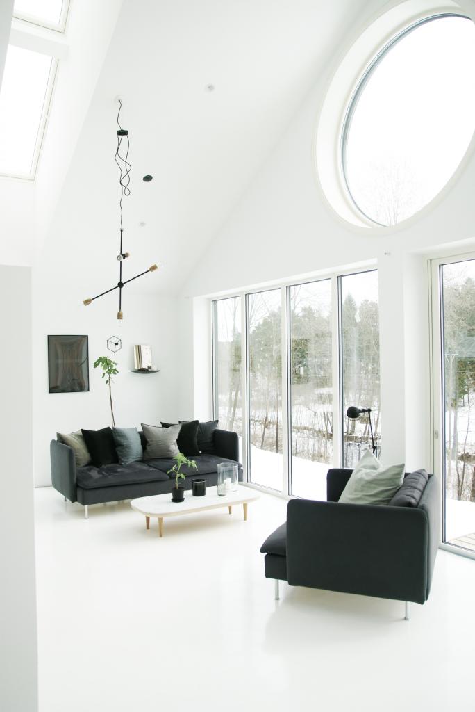 Windows  Architect's Daughter  Pinterest  Interiors Living Unique Living Room Minimalist Design Decorating Design