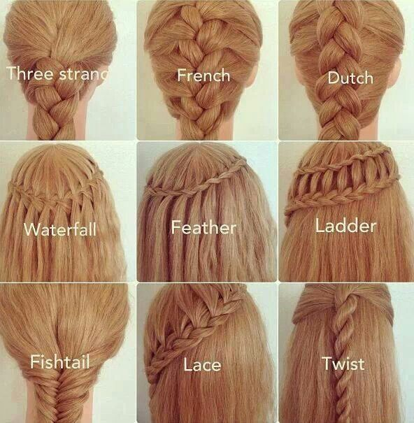 Different Types Of Braids And Their Names Hair Styles Long Hair Styles Hairstyle