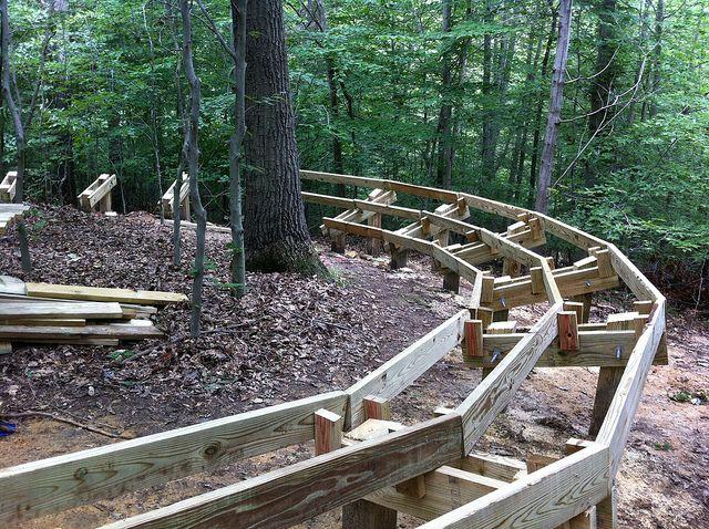 How to build a boardwalk google search boardwalks for Wooden walkway plans