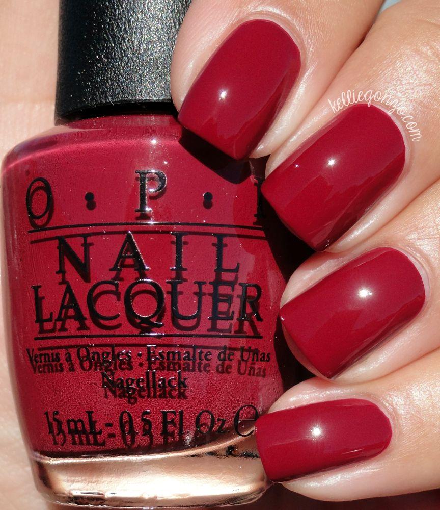 OPI We The Female // @kelliegonzoblog | NAIL COLORS | Pinterest ...