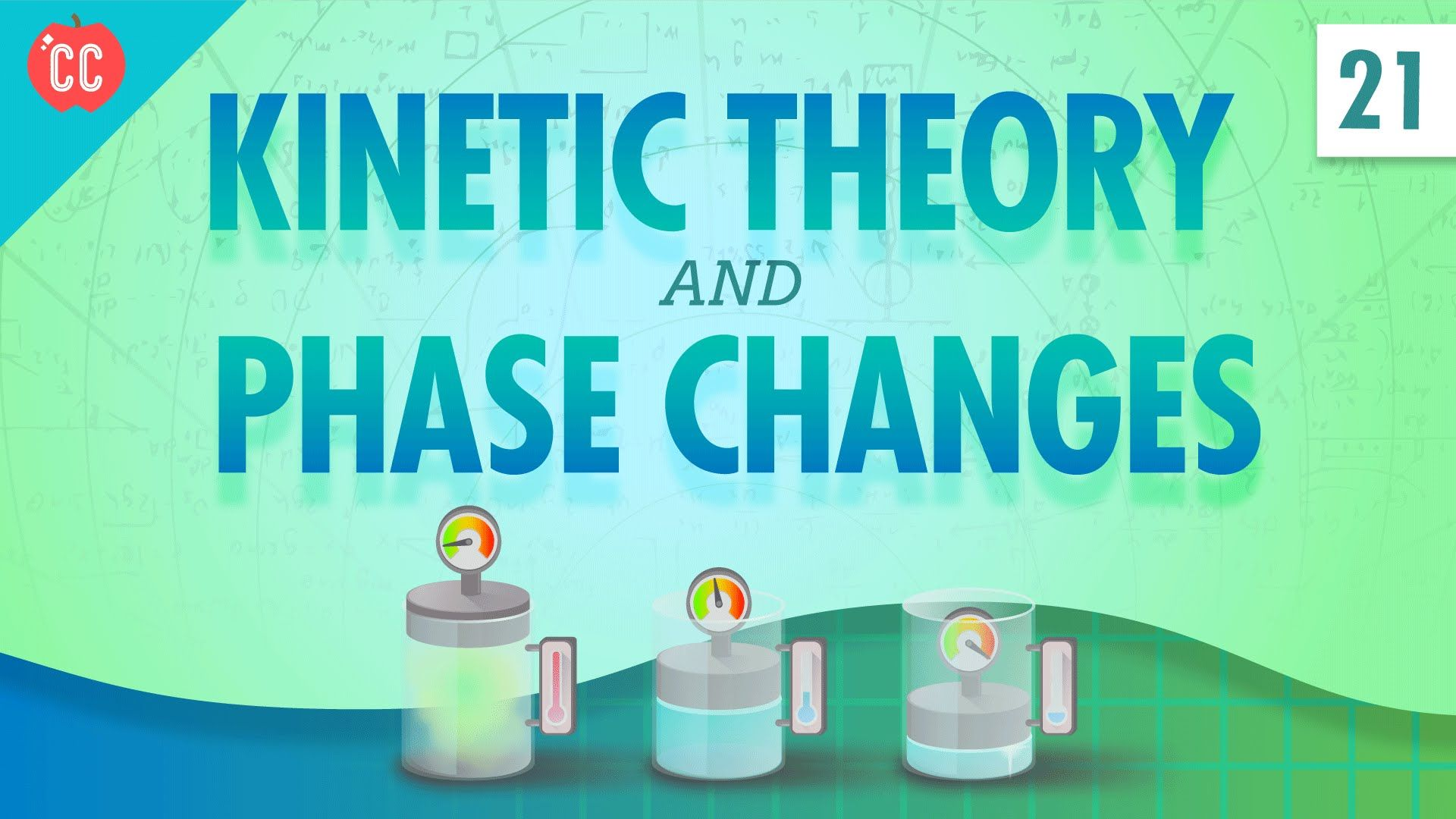 Kinetic Theory And Phase Changes Crash Course Physics