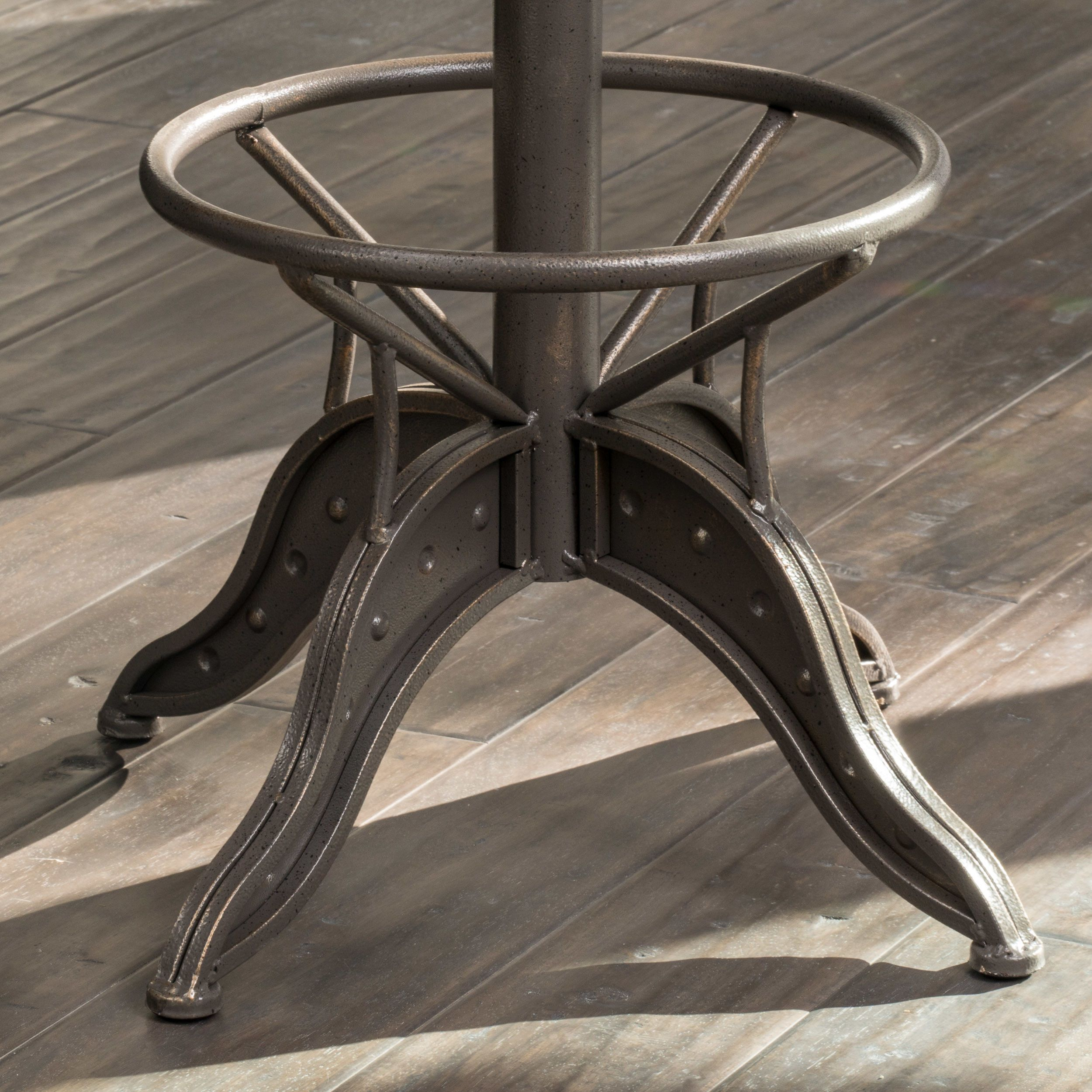 Home Loft Concepts Adjustable Height Swivel Bar Stool Bar Stools Stool Swivel Bar Stools
