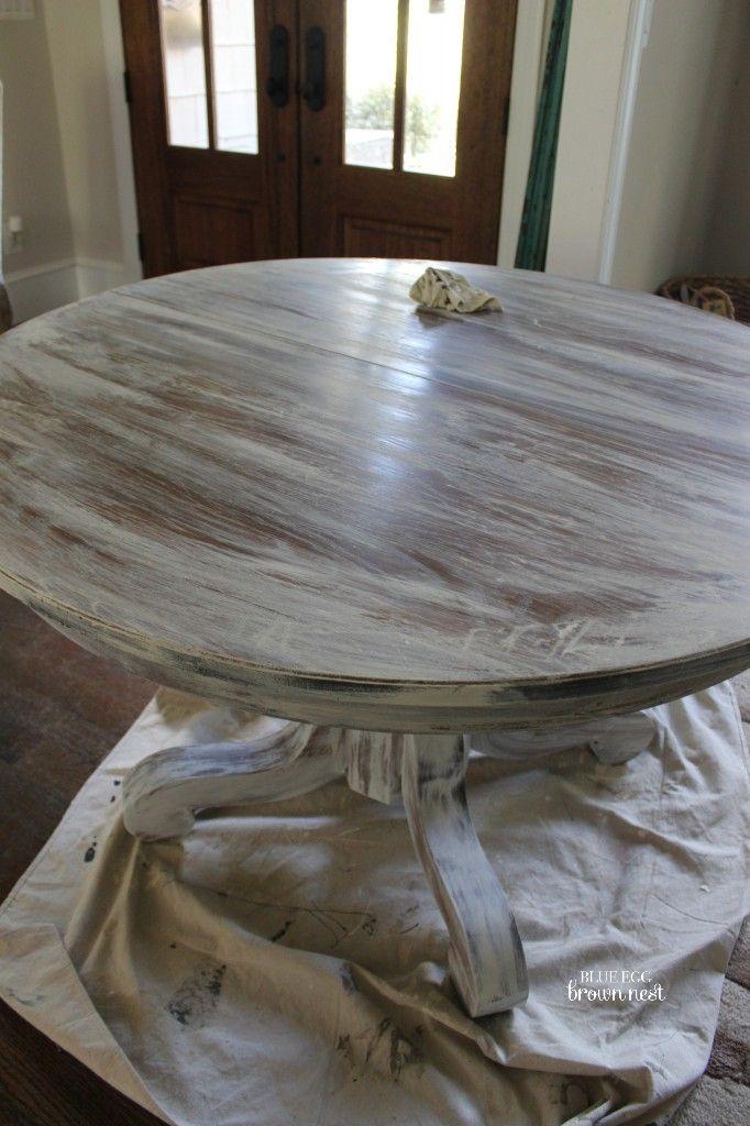 Weathered Wood Look Tutorial Painted Furniture Furniture