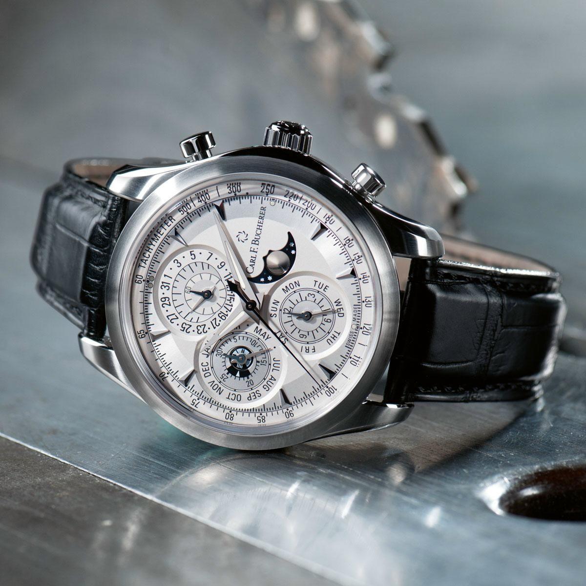 Carl F Bucherer Manero Chronoperpetual Watches For Men Vintage Watches Fine Watches