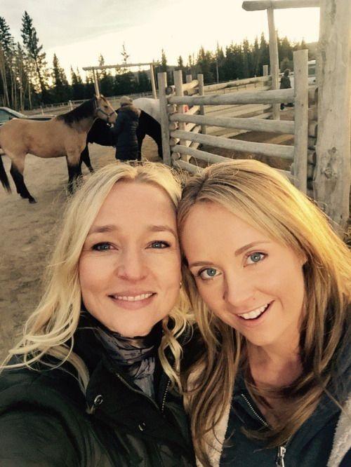 35c2e136d Amber and Kari Matchett | Chrissy's favorite people in 2019 ...