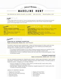 Eye Catching Resume Market Square  Prompts