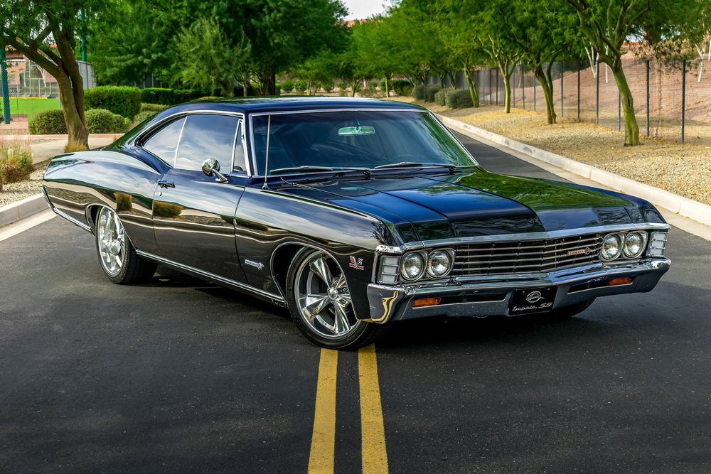 1967 Chevrolet Impala Custom Coupe Scottsdale 2020 In 2020 With