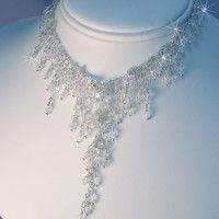 Crystal Bridal Necklace Arabella