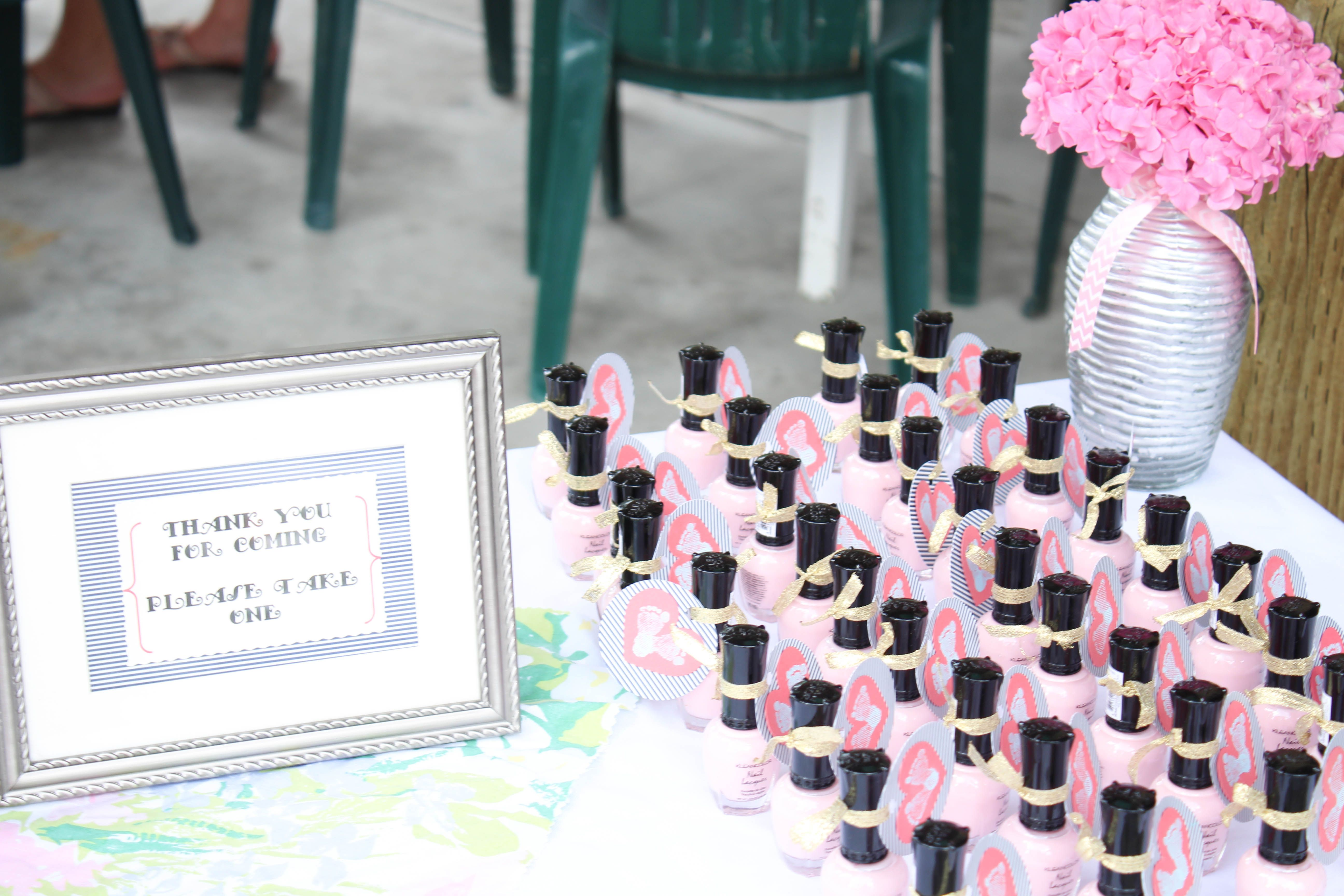 Baby Shower Favors - Nail polish, mix it up with pink and blue if ...