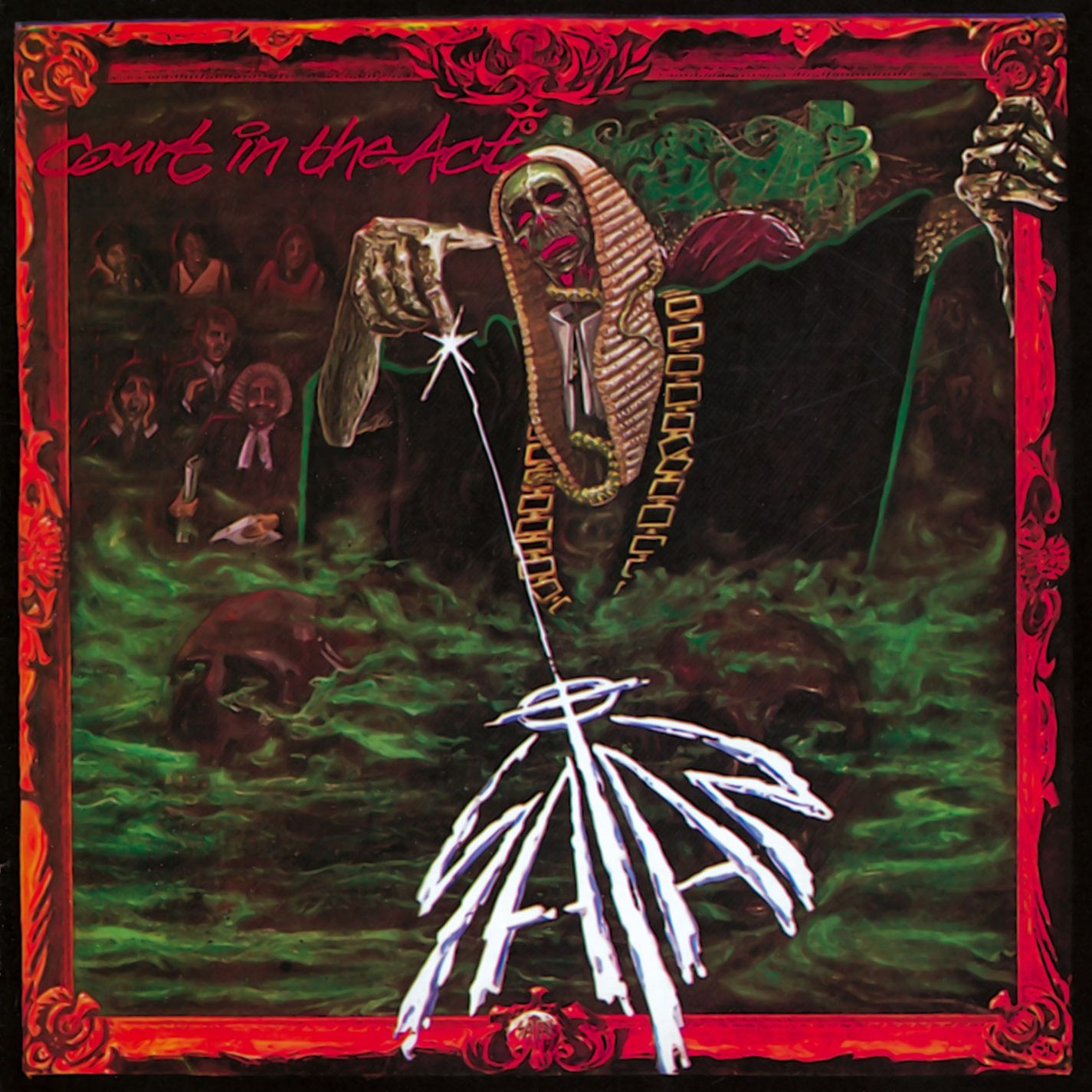 Satan Court In The Act Album Art Metal Albums Satan