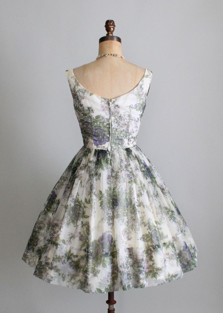 Cuteness Overload with Vintage Floral Dress | Vintage inspired ...