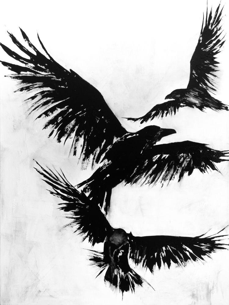 Crows XVII – Sheena Kalmakova