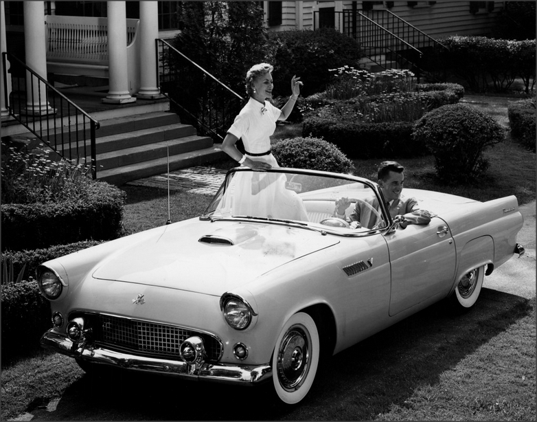 1955 Ford Thunderbird retro f & 1955 Ford Thunderbird~? | ??The Fabulous 50u0027s ?? | Pinterest ... markmcfarlin.com