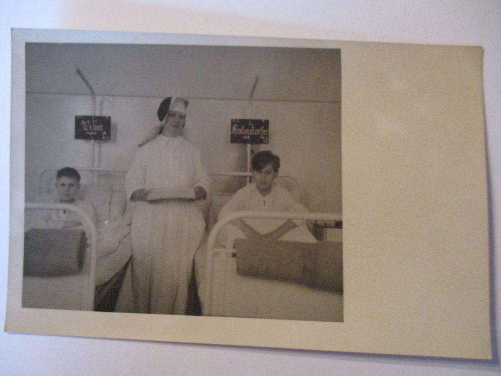 Details zu Berufe, Krankenschwestern, Krankenhaus,Fotokarte 1949 ...
