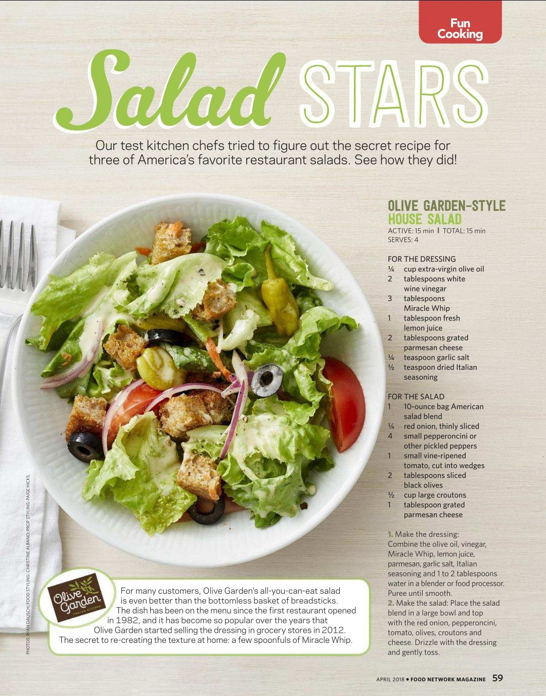 Olive Garden Style House Salad Salad Recipes Healthy Easy Salad Recipes For Dinner Super Healthy Recipes