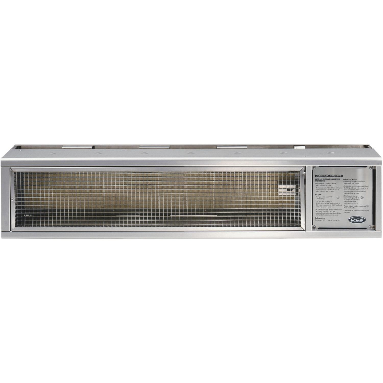 Dcs Built In Natural Gas Patio Heater Stainless Steel Drh48n Gas Patio Heater Natural Gas Patio Heater Patio Heater