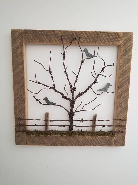 Wall Decorations, Wall Art, Natural Decor, Wall Hangings, Wire Tree