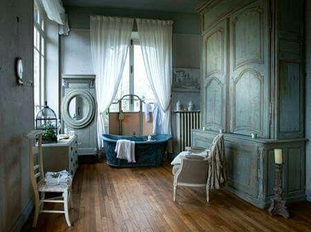 Wohnzimmer. Feminine Badezimmer,Französisch ...