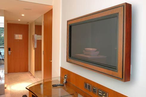Here Are The 6 Best Tv Wall Mount Systems On Amazon Frames On Wall Framed Tv Wall Frame Design
