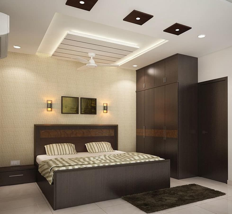 Modern Interior Decoration Living Rooms Ceiling Designs: 4 Bedroom Apartment At Sjr Watermark: Modern Bedroom By