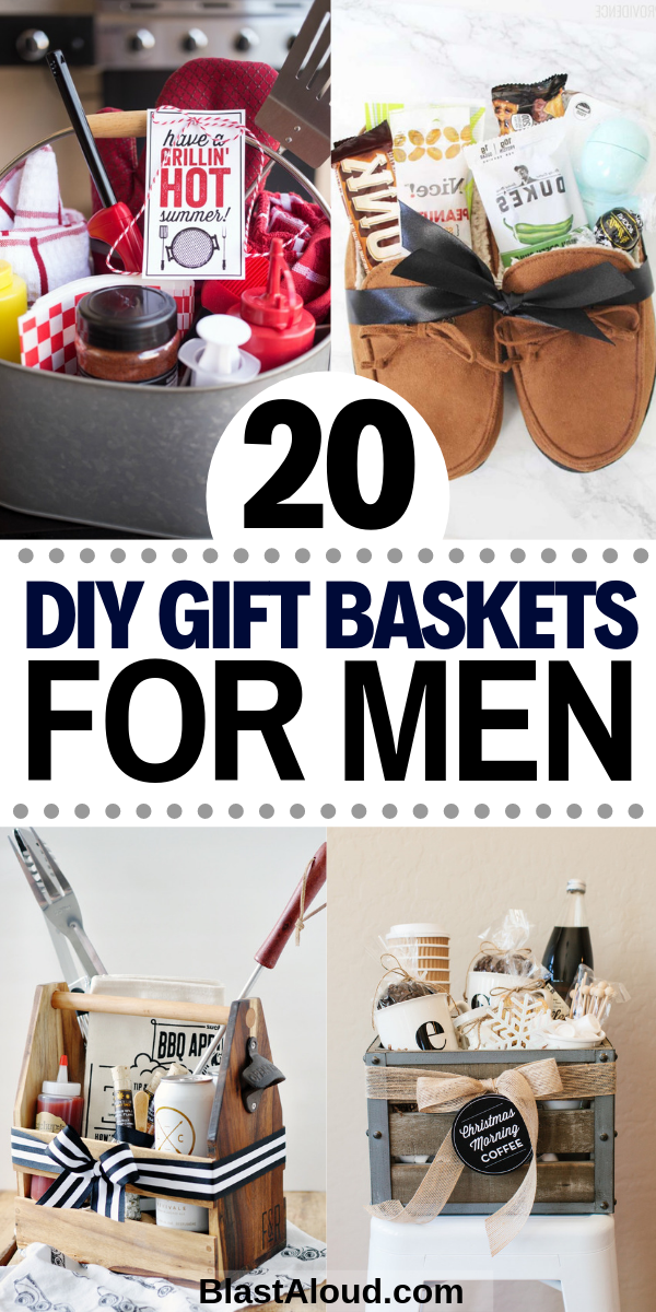 Gift Baskets For Men: 20 DIY Gift Baskets For Him That He Will Love
