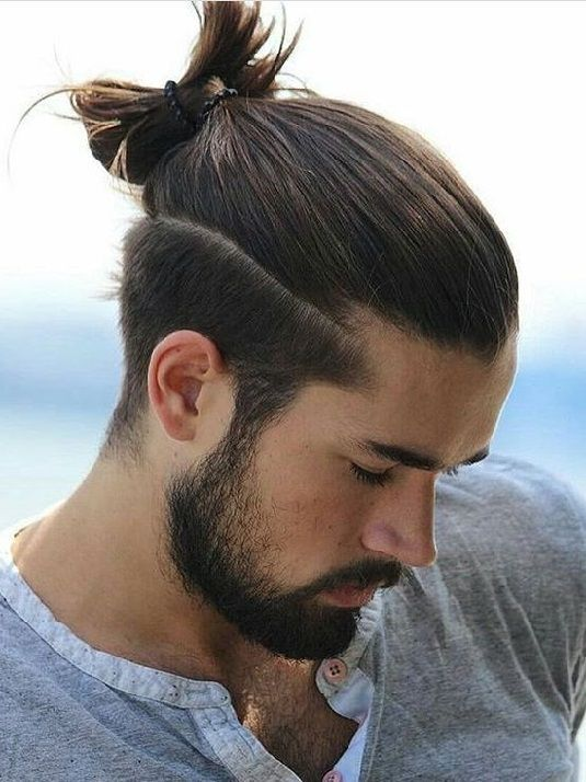 Hairstyles For Men With Long Hair On Top 5