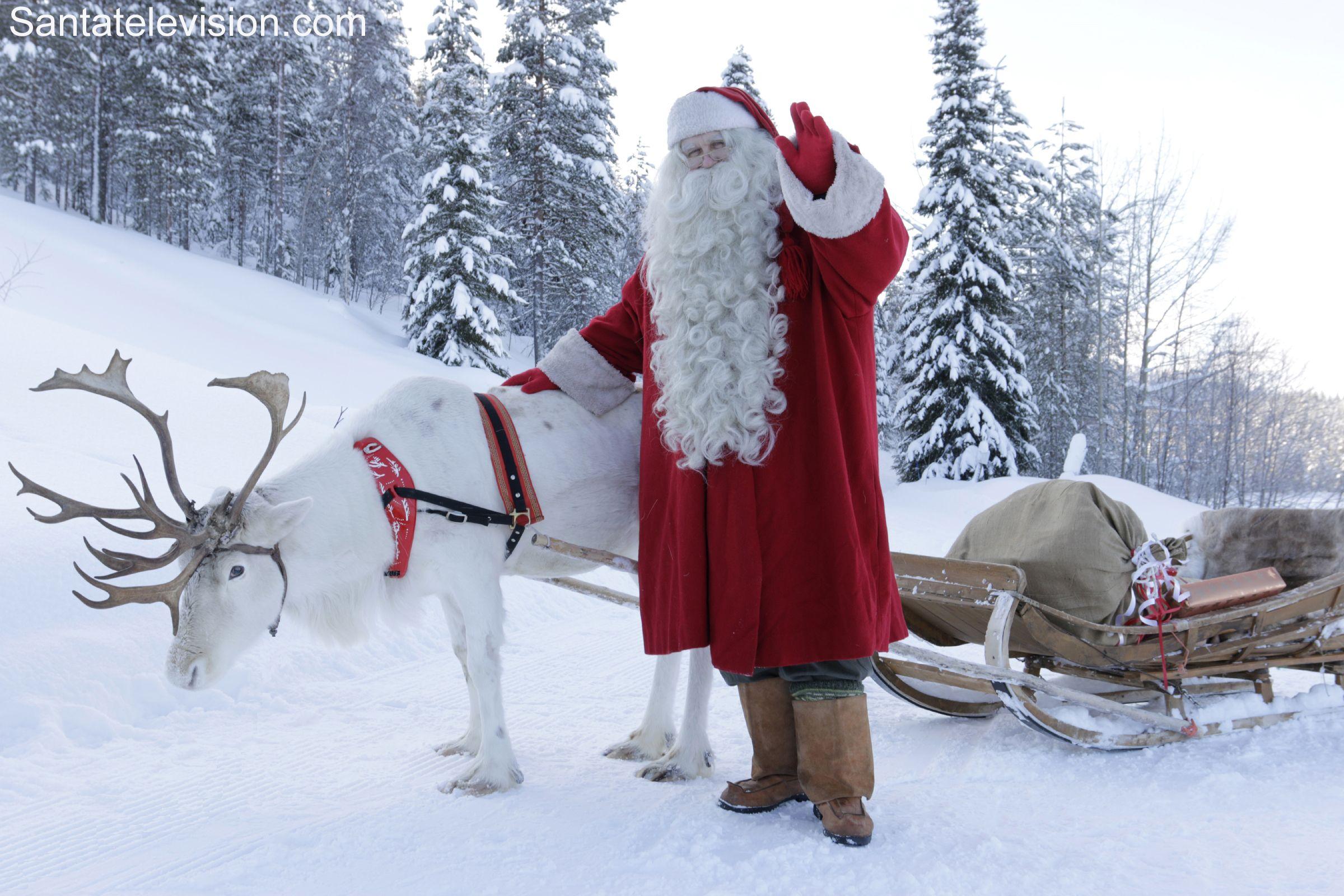 Le Pere Noel En Laponie La Laponie – le pays des rennes du Père Noël | Father christmas