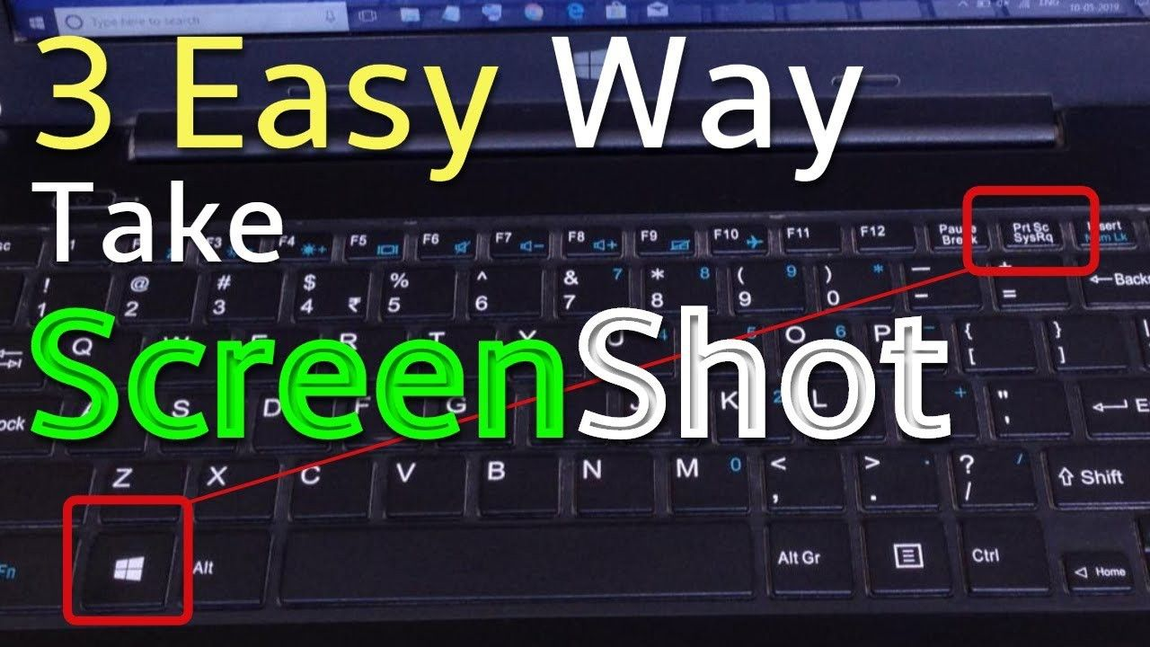 How To Screenshot On A Hp Laptop 3 Easy Way To Take Screenshots Take A Screenshot Hp Laptop Laptop Screen