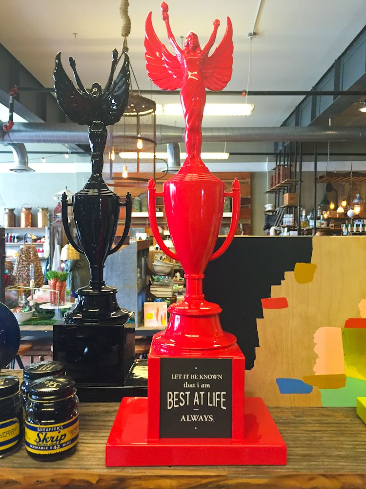Interesting Way To Reuse Old Trophies Amazing Design
