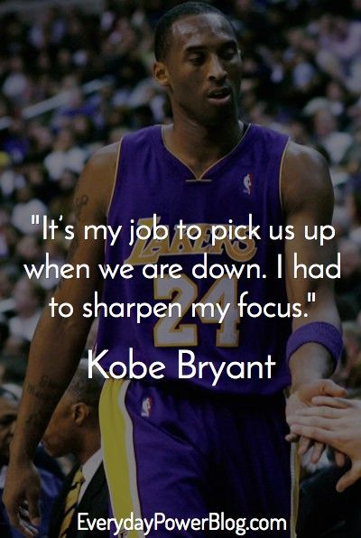 20 Kobe Bryant Quotes On Being Successful Kobe Bryant Quotes Kobe Bryant Kobe Quotes