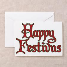 Happy festivus seinfeld fans greeting card for christmas happy festivus seinfeld fans greeting card for m4hsunfo