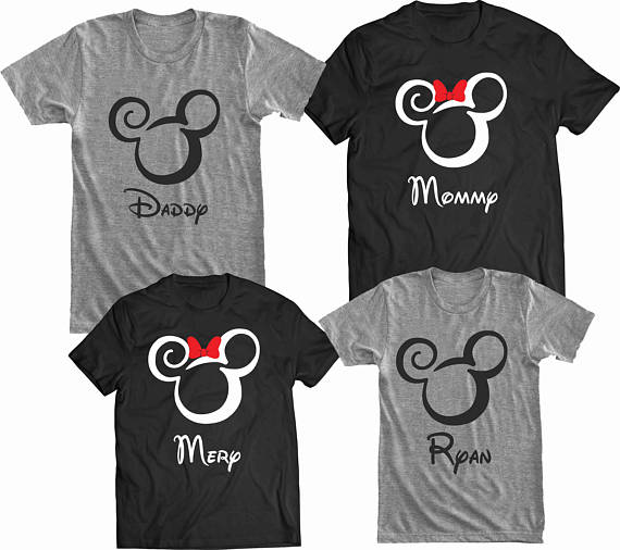 c257550b9 Disney family trip shirts 2018, Disney family matching shirts Personalized  Disney Shirts for Family,