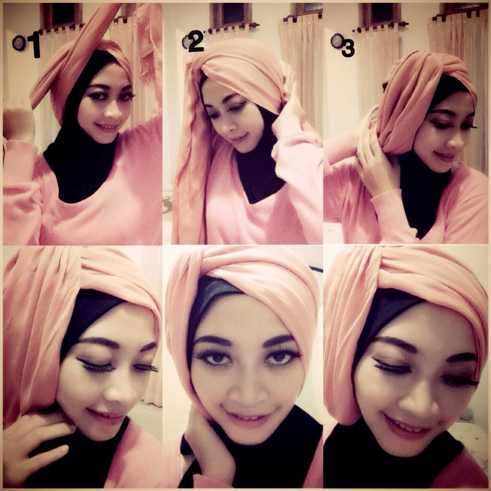 Simply Hijab Without Pin Hijab Tutorial Pinterest Hijabs
