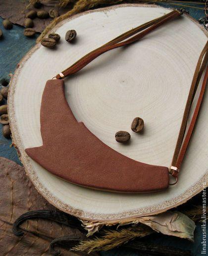Купить или заказать колье  Арабика  в интернет-магазине на Ярмарке  Мастеров. Продолжение 68b013639d5