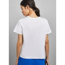 Photo of Cotton logo t-shirt with foil Ted BakerTed Baker
