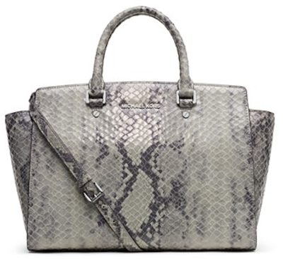 Beautiful Michael Kors Snakeskin Purse http://rstyle.me/n/eyfqwr9te