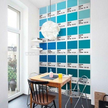 Pantones Tiles Stickers - Peinture Pour Carrelage De Cuisine