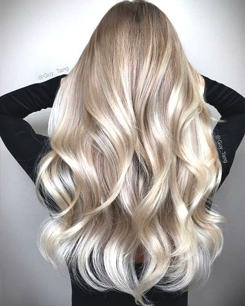 champagne-blonde-hair-spring-min #champagneblondehair