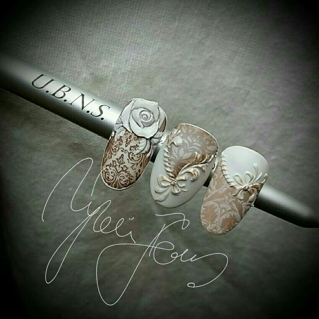 Pin de Claudia Guisao en 3 de nails   Pinterest   3d