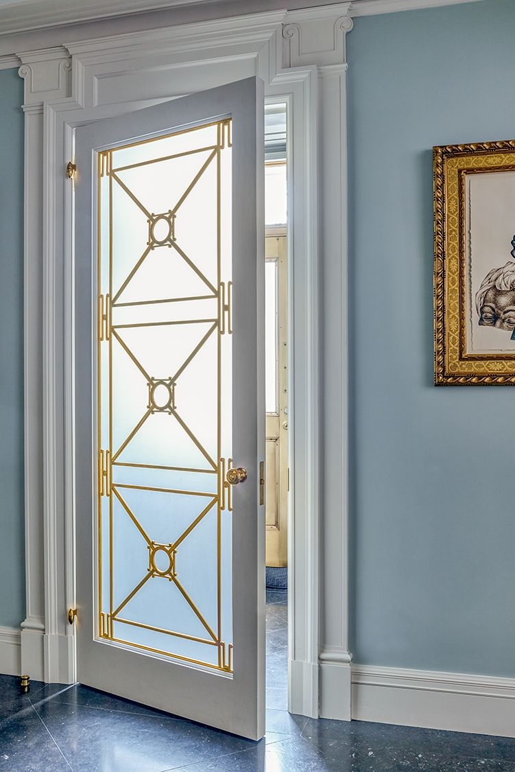 Bedroom Screen Door: Central Park West Duplex Door