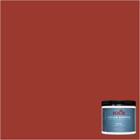 Kilz Interior/Exterior Paint 8 Oz. Color Sample, #LH180 Fahrenheit